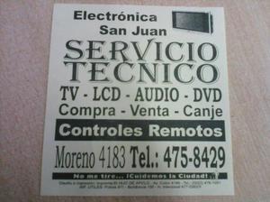 Servicio tecnico audio tv