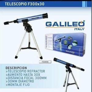 Telescopio galileo 300x30