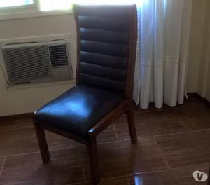 Vendo juego de 6 sillas de comedor de roble - usadas