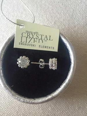 15d96048f44c Aros corona cristal   REBAJAS Mayo