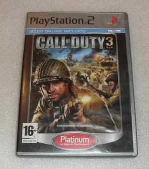 Call of duty 3 - ps2 - pal