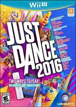Just dance 2016 nuevo wii u dakmor canje/venta