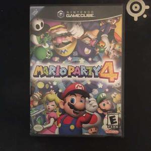 Mario party 4 gamecube original en ingles
