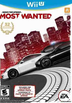Need for speed most wanted wii u mas 20 juegos memoria sd!!