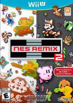 Nes remix 1 y 2 para wii ü más hasta 20 juegos en sd !!