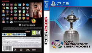 Pes 2016 c. libertadores + colección de 7784 juegos (ps2)