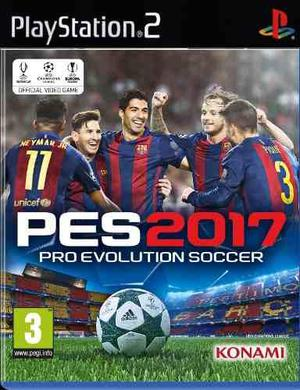 Pes 2017 + street fighter ultra compilation (ps2)
