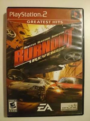 Playstation 2: burnout revenge disco sin manual