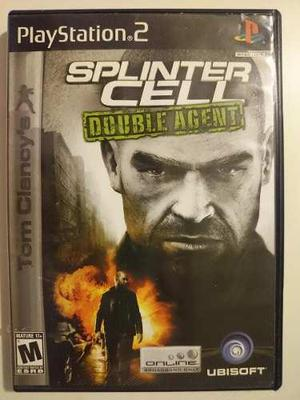 Playstation 2: splinter cell double agent disco sin manual