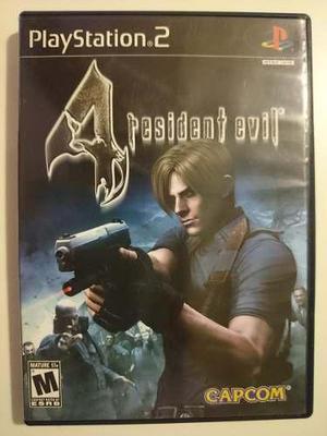 Ps2: resident evil 4 disco original completo muy buen estado