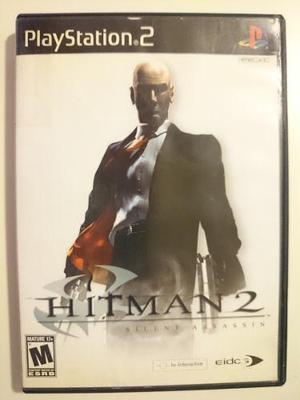 Ps2:hitman silent assassin disco original muy buen estado