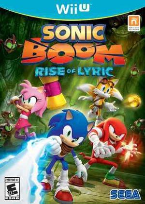 Sonic boom rise of lyric nuevo nintendo wii u dakmor can/ven