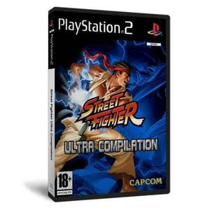 Street fighter ultra compilation + kof 5 en 1 para ps2