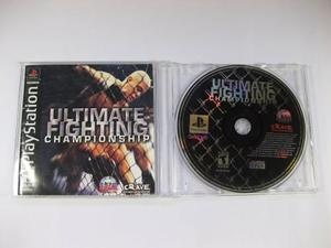 Vgl - ultimate fighting championship - playstation 1