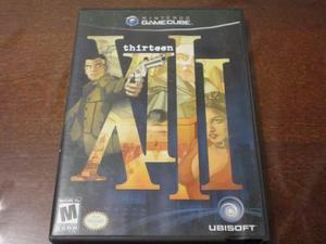 Xiii thirteen original para gamecube con caja y manuales