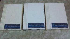 Centrales telefónicas marca digivox 6x16d 2x6