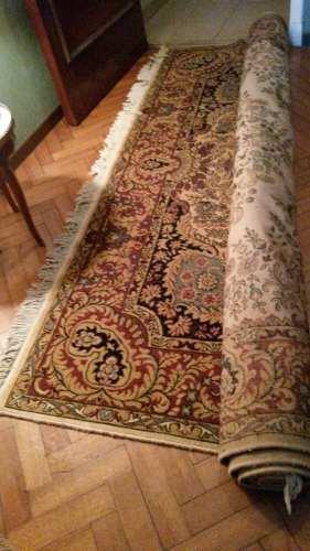 Dos alfombras de lana.