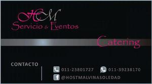 Eventos catering pizza party