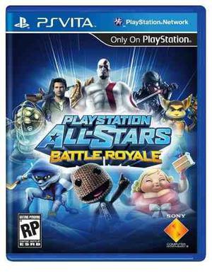 Playstation all star batte royal ps vita fisico spacegaming