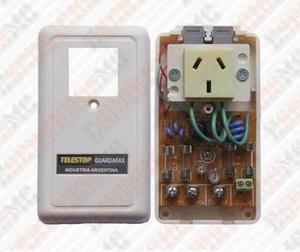 Protector de sobre-tensiones y descargas telefonia internet