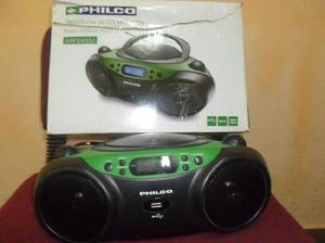 Reproductor de cd philco (verde)