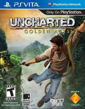 Uncharted golden abyss ps vita (sin uso)