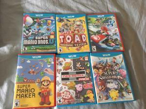 Wii u usada muy barata con juegos muy buenos