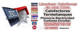 Gasista,plomero,electricista,mar del plata,mdp, 155201943