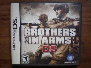 Brothers in arms original nintendo ds,3ds,2dscaja y manuales