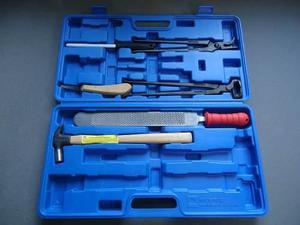 Kit caja de herrado mustad para herrador