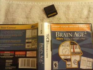 Nintendo ds juego brain age 2