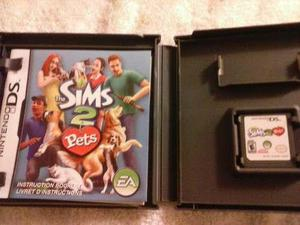 Nintendo ds juego the sims 2 pets