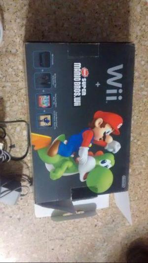 Nintendo wii + joysticks + juegos