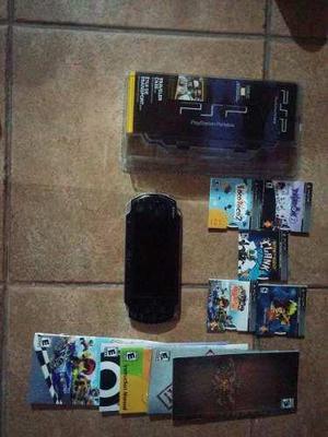Playstation mas juegos mas memoria mas estuche