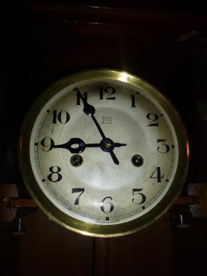 Reloj a pendulo antiguo original gustav becker (g.b.) made