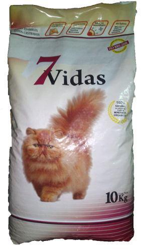 Alimento balanceado 7 vidas gato adulto x 10kg