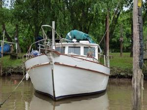 Barco parodi clasico madera, escucho ofertas y/o permuto