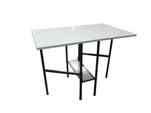Mesa libro plegable minimesa cocina 1.06 x 69 con estante