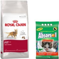 Royal canin fit 32 15kg + piedritas [envío hoy]