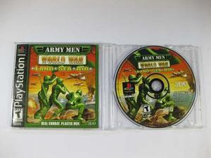 Vgl - army men world war - playstation 1