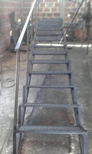 Escaleras rectas y caracol