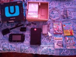 Nintendo wiiu 32gb + 4 juegos fisicos vendo o permuto ps4