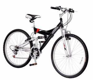 Bicicleta doble suspension mountain rod 24 - 18 envios gtia