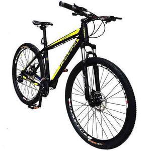 Bicicleta mountain bike mega 27 aluminio suspension envios