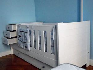 Cuna cama funcional completa