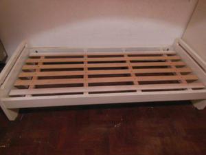 Cuna funcional / cama de 1 plaza con cajonera
