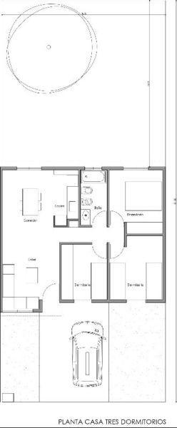 Fisherton casa 3 dormitorios