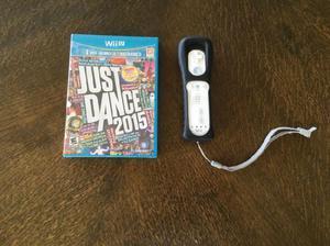 JUST DANCE 2015 Wii U Y WII U REMOTE PLUS CON SU RESPECTIVO