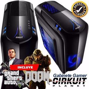 Pc Gamer Amd Fx6300 8 Gigas R9 270x Gabinete Con Led Juegos!