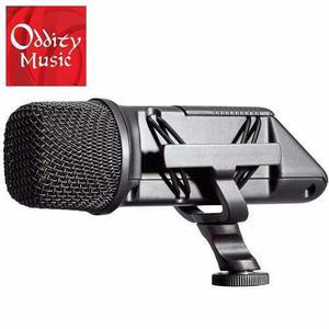 Rode svm micrófono boom cámara x y stereo videomic -